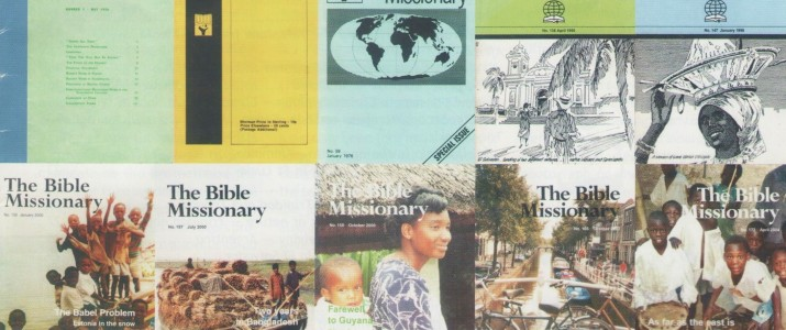 200 issues of the Bible Missionary